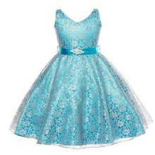 Girl Dresses Christmas Children Dress Princess Baby Wedding Birthday party dress Lace New Year clothes Girls - Wishes Kids store
