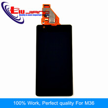 Liujiang 4.6'' Original For Sony ZR M36h C5502 C5503 Display with Touch Screen Digitizer Assembly Replacement(China)