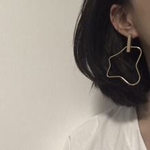 Timeless Wonder new punk cutout irregular geo Stud Earrings Women Party noval Top Rock pop club bar copper unique new ins 1464(China)