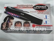 HOT! Post-Free shipping 1set Power grow comb ( breakthrough hair LASZER treatment)/Laser comb(China)