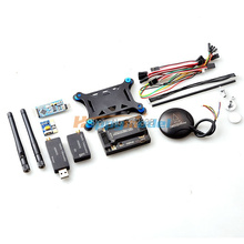 APM2.8 ArduPilot Mega 2.8 Flight Controller + 6M 6H GPS + Power Module+ 3DR Radio Telemetry + Mini OSD + Shock Absorption Board