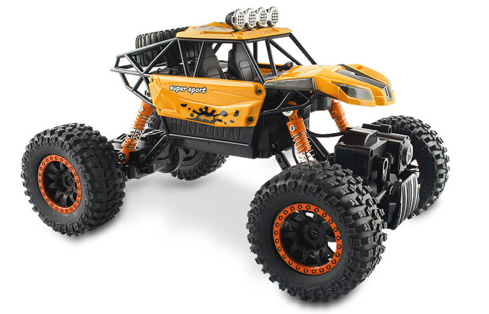Electric 1:18 Rc Cars 4WD Shaft Drive Trucks High Speed 25KM/H Radio Control Brushless Truck Scale Super Power Toys for Children