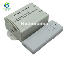 Wireless RF Audio constant voltage dimmer;LED Single Color Controller;DC5V/DC12~24V;Output current<350mA*2channels(China)