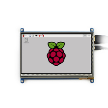 screen display Capacitive screen 7 inch LCD touch displayer 800 x480 Apply raspberries pi BB BLACK computer HDMI high definition