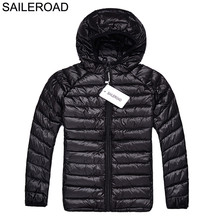 SAILEROAD 3-10Year Pure Colors Children Kids Boys Outerwear Jacket Coat Winter White Duck Down Baby Girls Down Coat Warm Clothes(China)