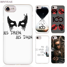 BINYEAE Heda Lexa The 100 Clear Cell Phone Case Cover for Apple iPhone 4 4s 5 5s SE 5c 6 6s 7 7s Plus(China)