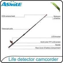 "hot sale 4""color TFT LCD screen,for real time video watching with Life detector camcorder from asmile"