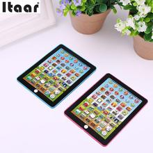 Kids Pad Computer Tablet Learning Educational Voice Recognition Touch Control(China)
