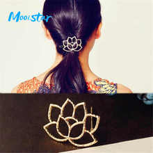 Mooistar #1801 Lotus Retro Styling Hairpin Hair Clips Headdress Flower Hair Accessories