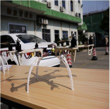 free shipping 4pcs/set  Universal Tall Landing Gear Skid for  F450 F550 SK480 FPV aerial photo