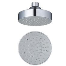 "1 Pc High Quality 4 ""small Fashion ABS Round Single Head Chromre Shower Nozzle Lift Shower Head Top Spray Shower"