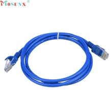 Mosunx Simplestone 1.3M Blue Ethernet Internet LAN CAT5e Network Cable for Computer Modem Router Nov21
