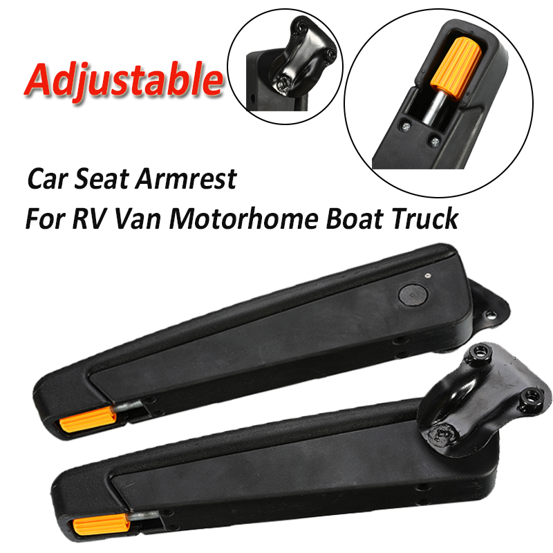 Car-Seat-Armrest Truck-Accessorie Van Motorhome Boat Universal RV Adjustable for 90 Degress title=