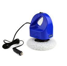 12v High Quality Cigarette Lighter Interface New Electric Mini Blue Polishing Machine Car Polisher Cleaner(China)