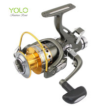 Superior Metal 9+1BB Carp Spinning Reel bait runner fishing reels daiwa pesca abu garcia carp fishing feeder okuma ryobi(China)
