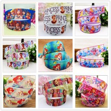 YJHSMY 1'' 25MM Barbie Series printed grosgrain ribbon,Clothing accessories accessories, wedding gift wrap ribbon,MD4642