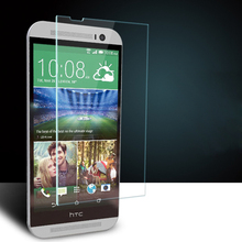 For HTC Desire 626 626G 610 616 620 620G 816 816G 820 826 One M7 M8 M9 Premium 0.3mm Tempered Glass Screen Protector Film Case