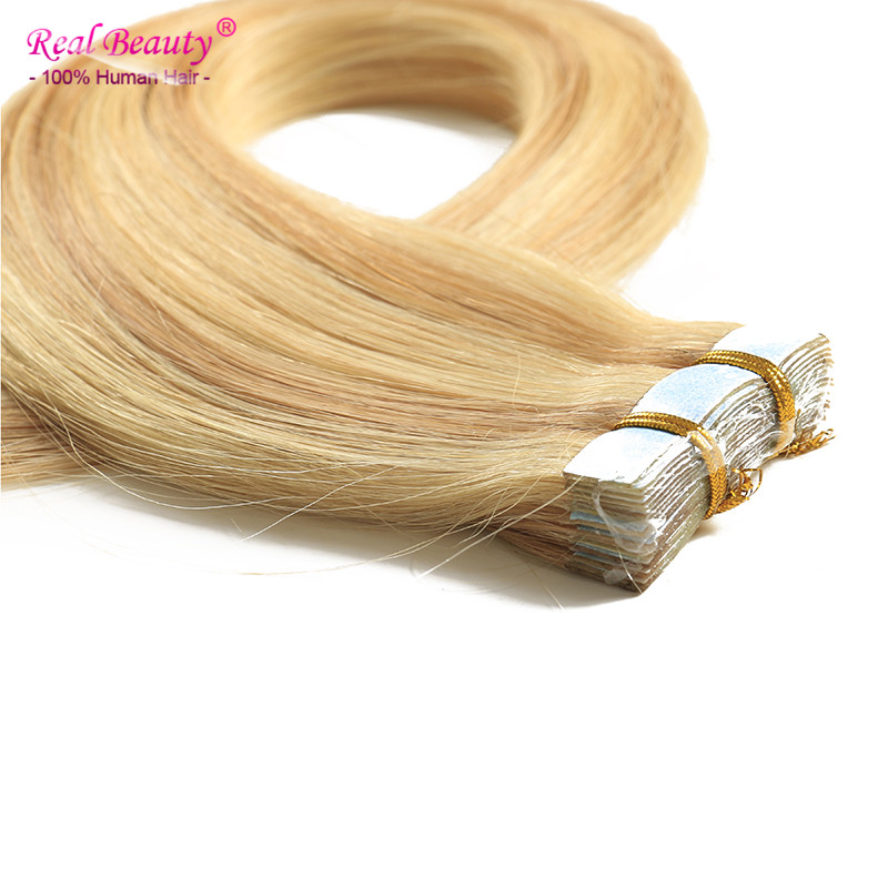 20 Tape In Human Hair Extensions 20pcs/lot Double Wefted Tape Hair Extensions 50g/lot 11 Colors Available<br><br>Aliexpress