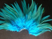 "New! Light blue 50 pc quality pheasant feather, 4-6 ""/ 10-15cm DIY decoration accessories, weddings, family(China)"
