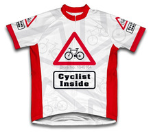 Cyclist Inside Children's Cycling Jersey Short Sleeve Bicycle Clothing Road Bike Sports Clothing Cycling Fof Boy
