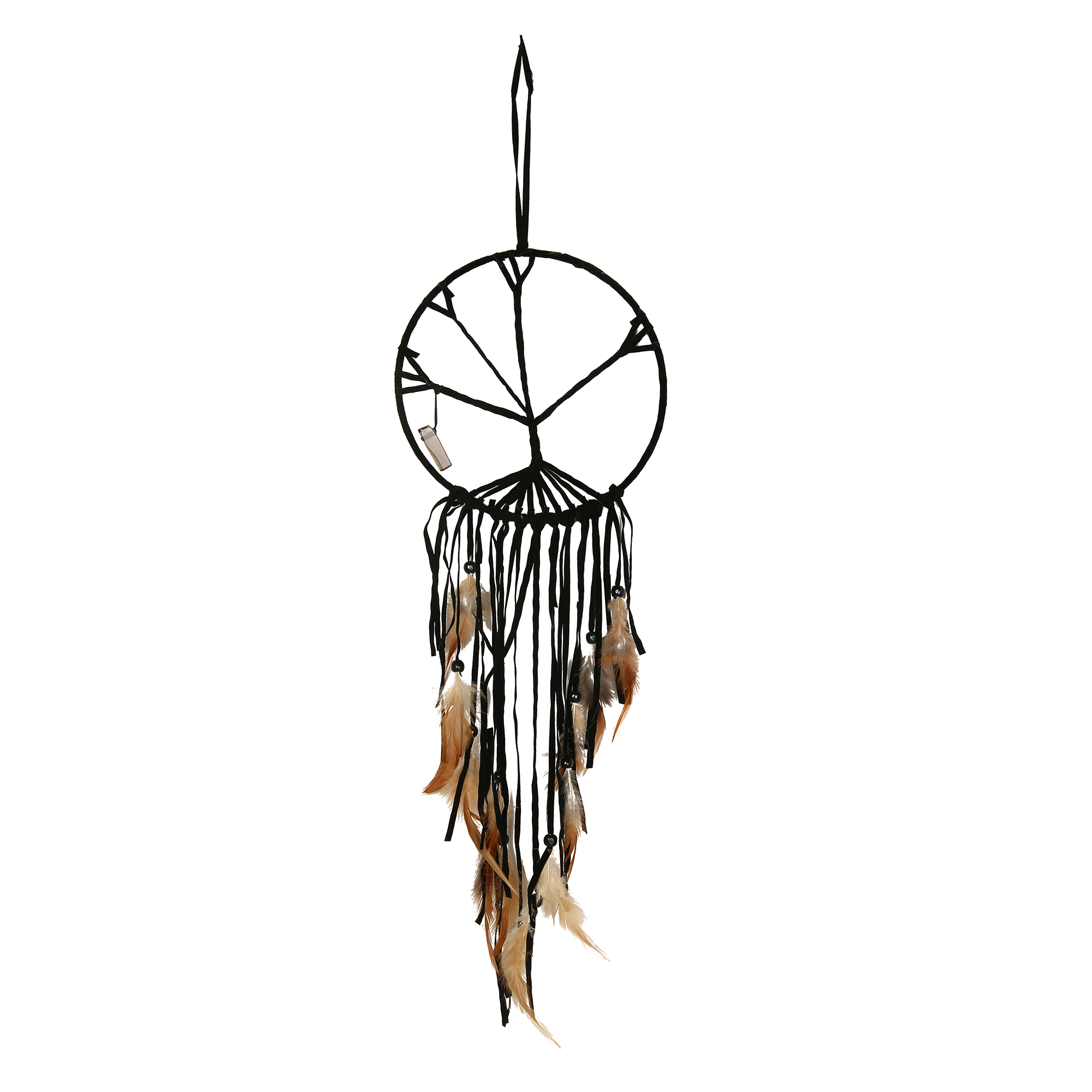 1pcs Dream Catcher Chime The Tree of Life Net Bead Feather Dreamcatcher Indian Style For Home Hanging Ornaments Decor