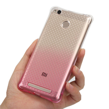 for Xiaomi Redmi 3 s Gasbag gel case Gradient Color back cover Protect shell Anti Knock case protection mobile phone bag air sac