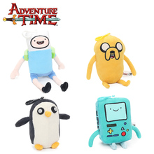 13-21cm Adventure Time Plush Keychain Toys Finn Jake Penguin Gunter Beemo BMO Soft Stuffed Animal Dolls Pendant Party Supplies(China)
