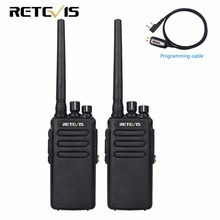 2pcs 10W DMR Digital Radio IP67 Waterproof Walkie Talkie 10Km Retevis RT81 UHF 400-470MHz VOX Encrypted Two Way Radio Long Range(China)