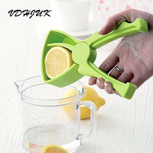 Wholesale retail box 2017 Easy and quick Hand Press Juicer,Lemon Squeezer Safe and reliable,DIY Homemade juices tool