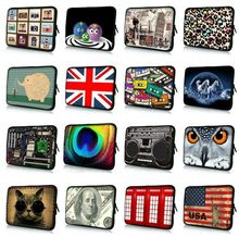 "7.9 9.7 10.1 11.6 12 13 13.3 14"" 15.4 15.6 15 inch Cat Laptop Bag Tablet sleeve Notebook Case For Macbook Asus HP Acer Lenovo #R"