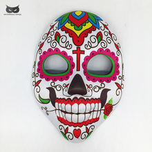 Mysterious Angel cloth mask scary terror ghost skull skeleton horror  carnaval party masquerade halloween mask carnival terrible