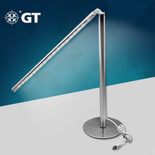 GT-Lite LED Modern Table Lamp,Aluminum,40watts Equivalent,USB Power,Work With ALL of DC 5V Adapter,Laptop,Computer,GTTL21