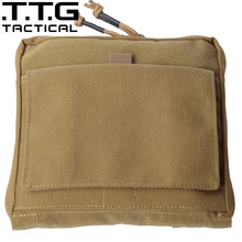 TTGTACTICAL Molle Military Organizer Military Low Profile Combat Waist Packs Military Combat Accessory Bag Cordura Nylon 1000D