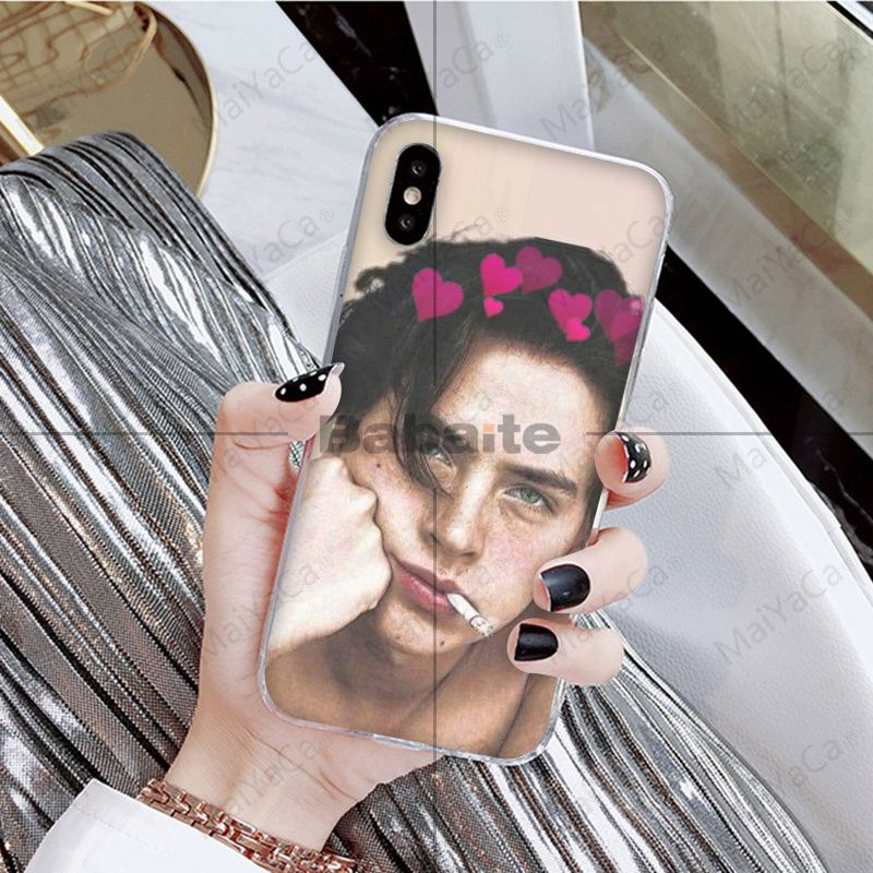 American TV Riverdale Series Cole Sprouse Soft Phone Case