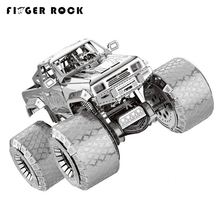 Finger Rock Car Vehicles Model Building Kits Wrangler VW82 Bucket Car Truck Off-Road Vehicle Puzzle DIY 3D Jigsaws for Adults(China)