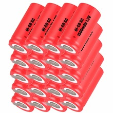 yeckpowo 20 pcs SC battery electric drill screwdriver subc batteries For Makita power tool  nicd 1.2v 1500mAh
