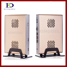 KINGDEL Thin Client Computer, Mini PC,PC station with Intel N270 1.60Ghz Dual Core, 4GB RAM, 32GB SSD, 32 Bit, 720P HD, 3D Games