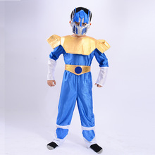 The Optimus Prime Costumes Iron Man Clothing Children's Holiday Cosplay Cloth Hero Costume With Mask