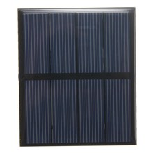 universal 2V 0.6W 300mAh Polycrystalline Silicon Epoxy Solar Panel Standard Battery Cells DIY Solar Module Stored Energy Power