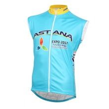 winter fleece team astana cycling vest super warmer cycling jerseys windproof vest quick-dry  cloth Ropa Ciclismo