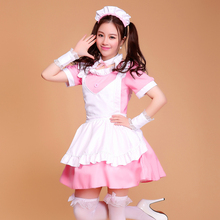 Shanghai Story Halloween Costumes for Women Coffee House Waitress Uniforms Cute Girl dress Anime Maid Cosplay Costume(China)