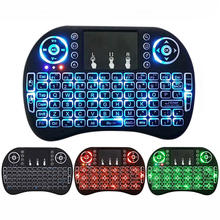 2.4GHz Wireless Backlight Keyboard With Mouse Touchpad Handheld Remote control for Android Smart TV BOX Mini Computer