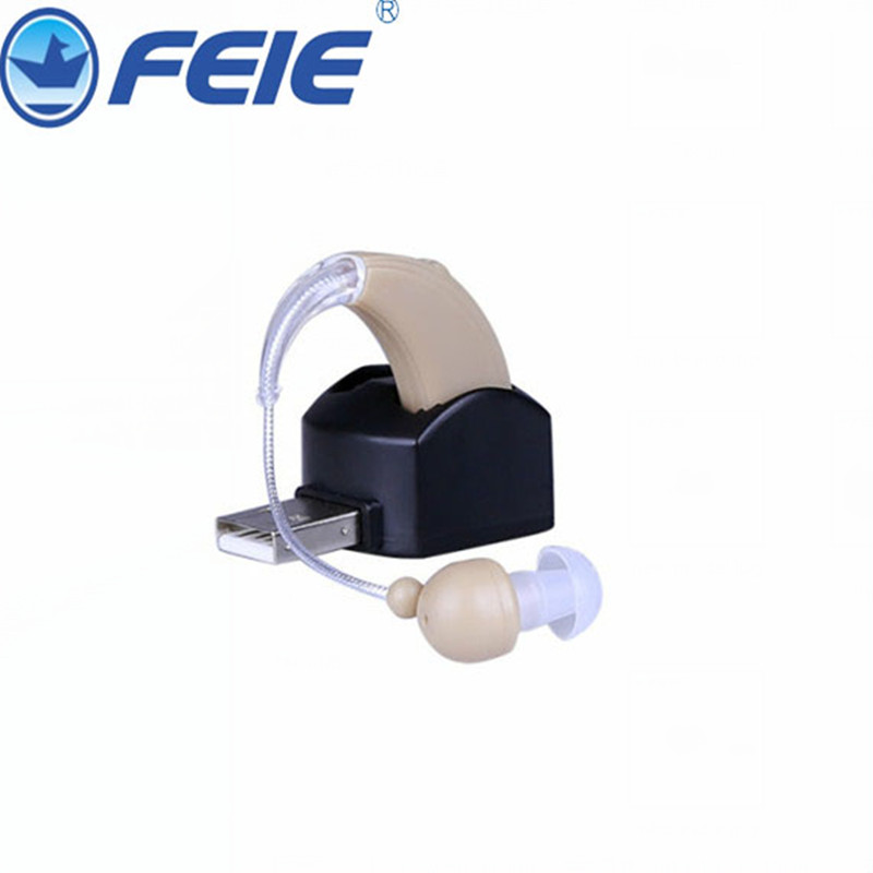 Rechargeable hearing aid deaf ear headset charging in computer S-109 Free Shipping<br>