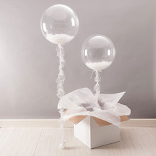 "5PC 18"" Transparente Clear  Balloon bubble balloon High Quality Repeated Use Toys Suit for Party Wedding Celebration Supplies"