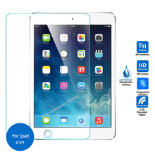 For Ipad 2 3 4 Tempered Glass screen Protector 2.5 9h Safety Protective Film For Ipad2 Ipad3 Ipad4 a1396 a1430 A1459 A1460 9.7(China)