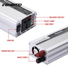 Vehemo 5000W Peak Power Inverter Vehicle Converter Portable Car Inverter Automobile Power Supply(China)
