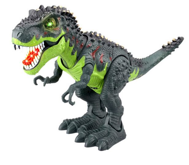 Electric toy large size walking dinosaur With Light Sound kids toys<br>