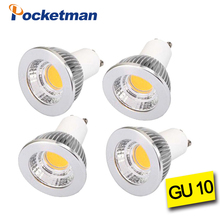 Ultra Bright Dimmable LED Spotlight Bulb GU10 7W 10W 15W COB Lamp AC 85v-265v Lampada Warm white/Cold White 4pcs(China)