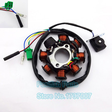 GY6 125 Ignition Stator Magneto Coil 8 Poles Coils For GY6 125cc 150cc Moped Scooter ATV Motocross(China)