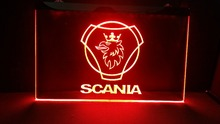 scania Name Personalized Custom Home Bar Beer Mug LED Neon Sign